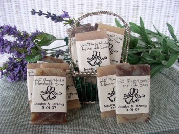 All Things Herbal Limited Handcrafted Natural Soap Wedding Favors Eco Friendly Green Handmade
